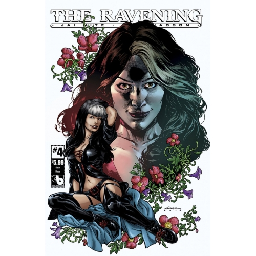 The Ravening 4 (Goth Deco Cover) (VO)
