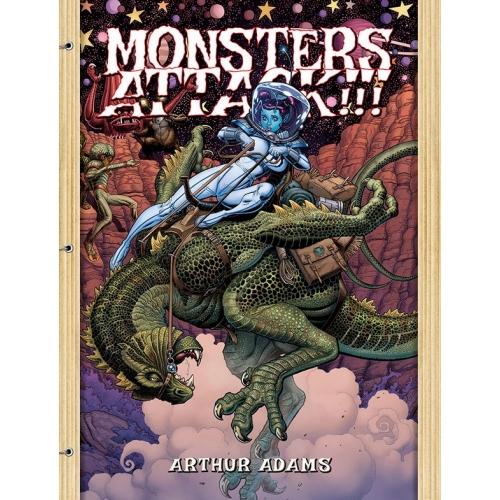 Arthur Adams Monsters Attack Sketchbook
