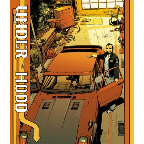 Sean Murphy Under The Hood Artbook (Signé)