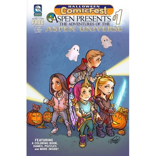 Adventures of the Aspen Universe (Halloween ComicFest) (VO)