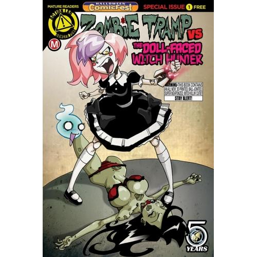 Zombie Tramp Dollfaced Witch Hunter (Halloween ComicFest)(VO)