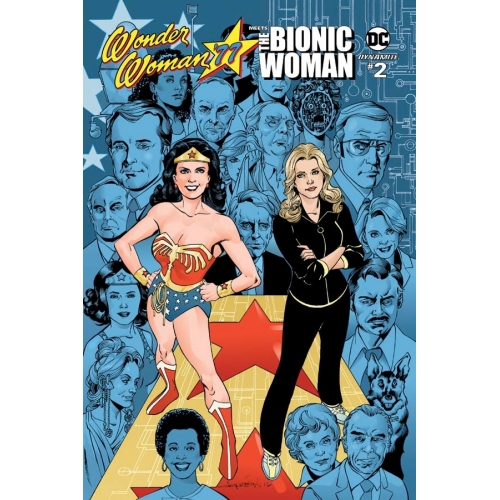 Wonder Woman '77 Meets The Bionic Woman 2 of 6 (VO) Cover B