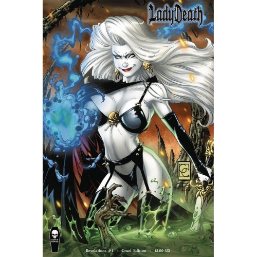 LADY DEATH REVELATIONS ILLUSTRATED 1 Cruel Edition (VO) Greg Capullo