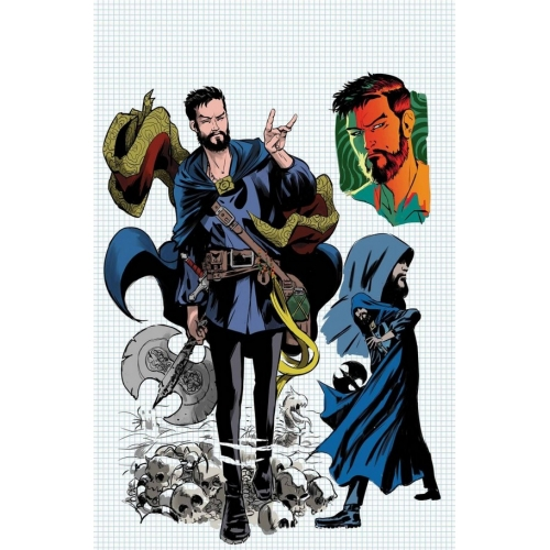 Doctor Strange & The Sorcerers Supreme 1 Rodriguez Cover (VO)