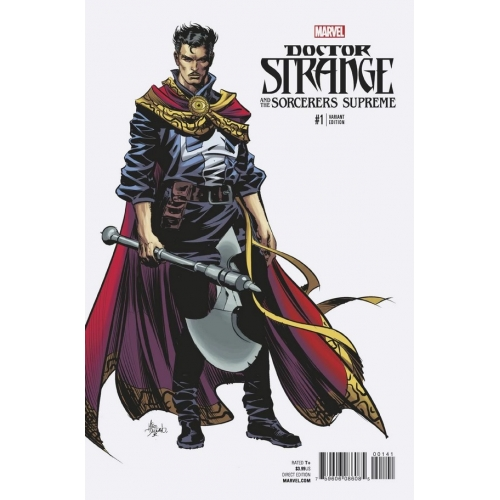 Doctor Strange & The Sorcerers Supreme 1 Mike Deodato Cover (VO)