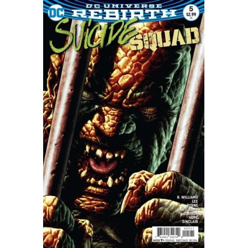 Suicide Squad 5 Lee Bermejo Cover (VO) Jim Lee