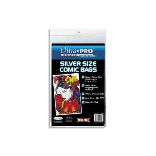 Comics Bags Silver (x100)
