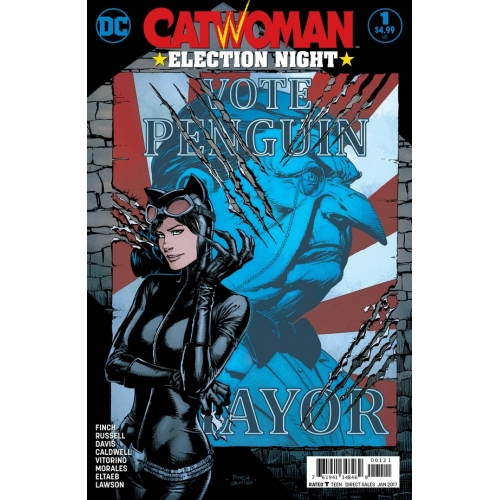 Catwoman Election Night 1 Variant Cover (VO)