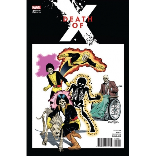Death of X 3 (of 4) Variant Cover (VO)