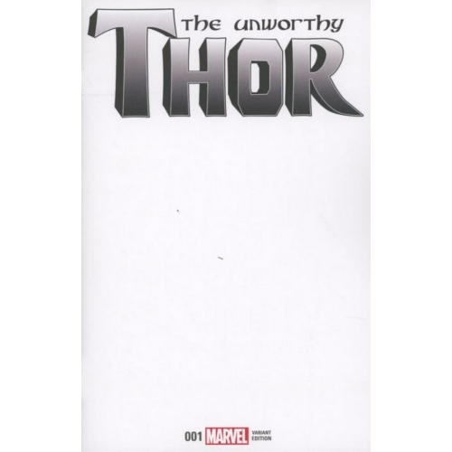 The Unworthy Thor 1 (of 5) Blank Cover (VO) Olivier Coipel