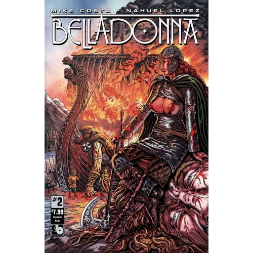 Belladonna 2 Blood Lust Nude Cover (-18) (VO)