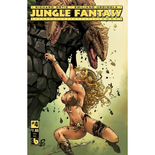 Jungle Fantasy Ivory 4 Sultry Nude Cover (-18)
