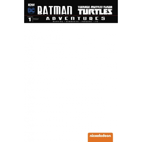Batman / TMNT Adventures 1 (VO)