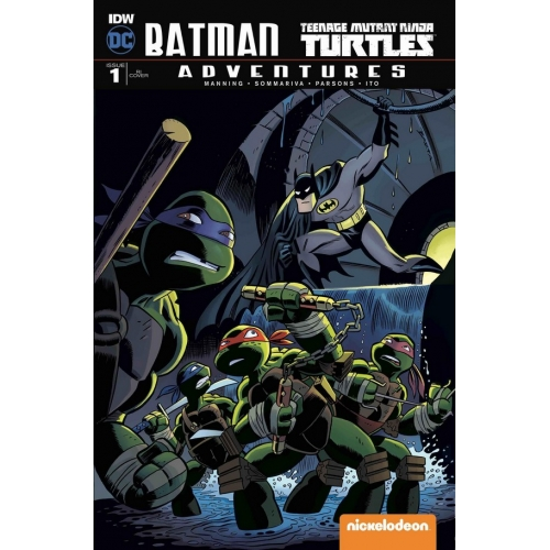 Batman / TMNT Adventures 1 (B) Ciero Nelli Cover (VO)