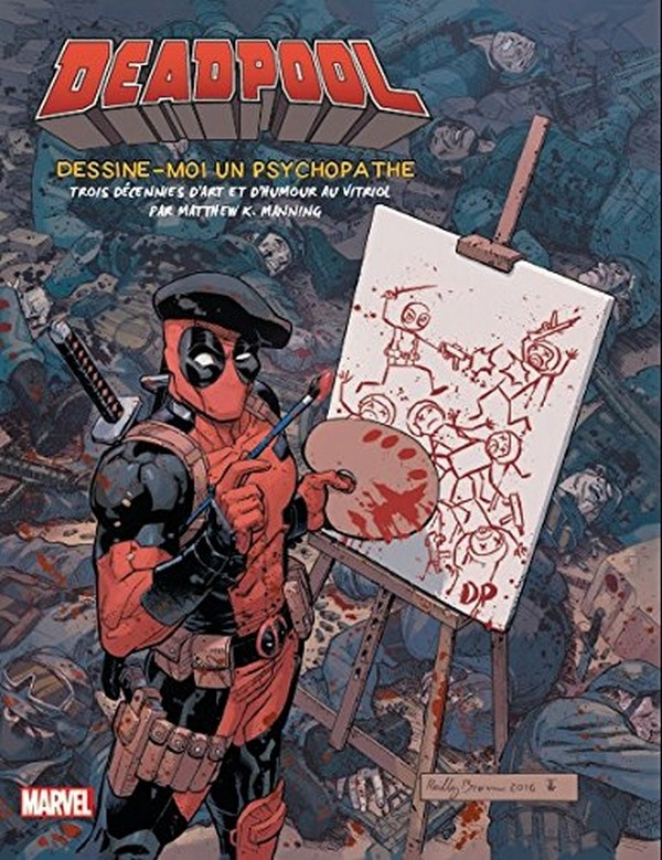 Tout l'art de Deadpool