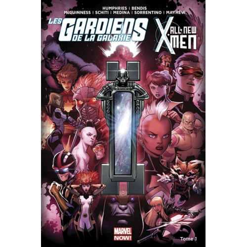 All-new X-Men/Les gardiens de la galaxie tome 1 (VF)