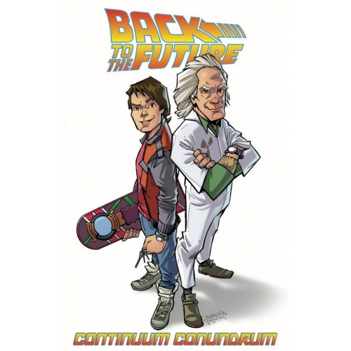 BACK TO THE FUTURE TP VOL 02 CONTINUUM CONUNDRUM (VO)