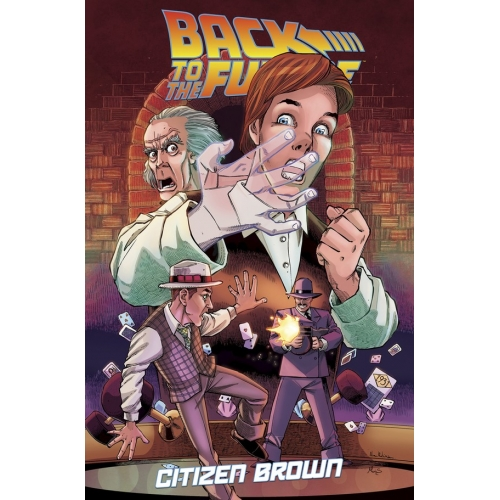 BACK TO THE FUTURE CITIZEN BROWN TP (VO)