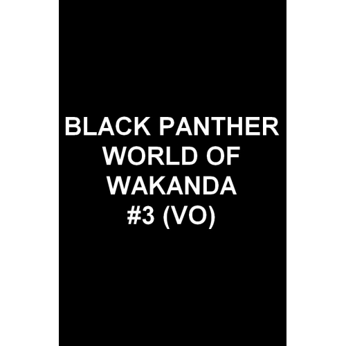 Black Panther World of Wakanda 3 (VO)