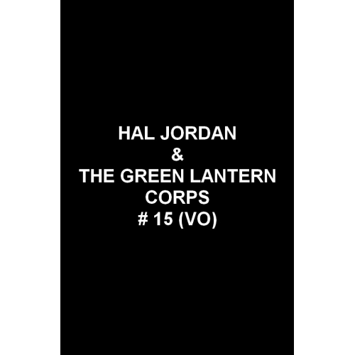 Hal Jordan & the Green Lantern Corps 15 (VO)