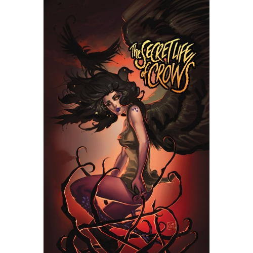 Mini-Print The Secret Life of Crows Série 1 - 5 Original Cover