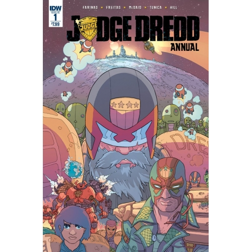 Judge Dredd Annual - 1 (VO)