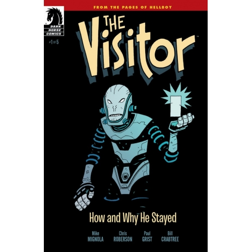 The Visitor: How and Why He Stayed 1 (of 5)