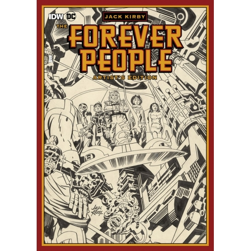 JACK KIRBY'S FOREVER PEOPLE ARTIST'S EDITION HC (VO)