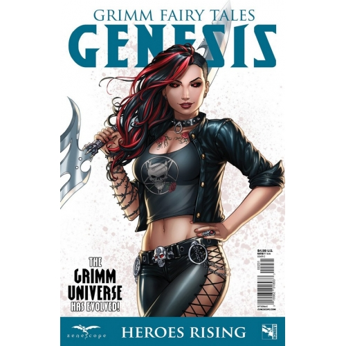 GRIMM FAIRY TALES : GENESIS HEROES RISING (C) (VO) Sabine Rich