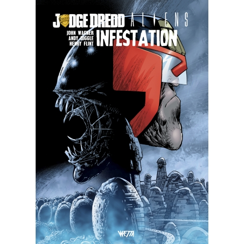 Judge Dredd/Aliens : Infestation - Édition Hardcore (VF)