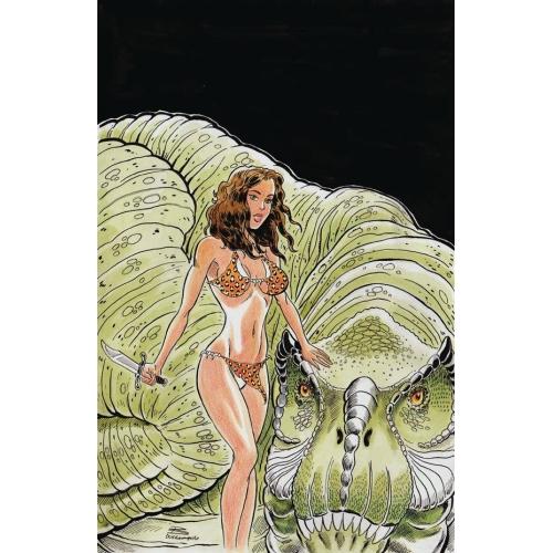 Cavewoman Dragon 1 (VO)
