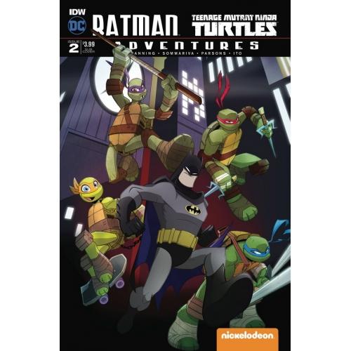 Batman / TMNT Adventures 2 Subscription Variant A (VO)