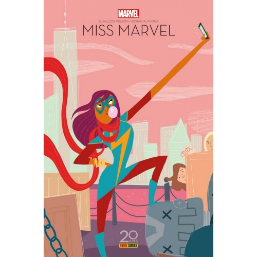 Ms. Marvel Tome 1 (Éd. 20 ans)