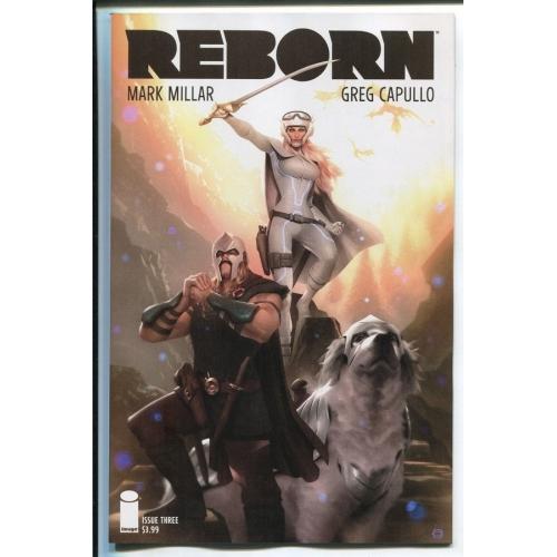 REBORN 3 Alex Garner Variant (VO) Mark Millar - Greg Capulllo