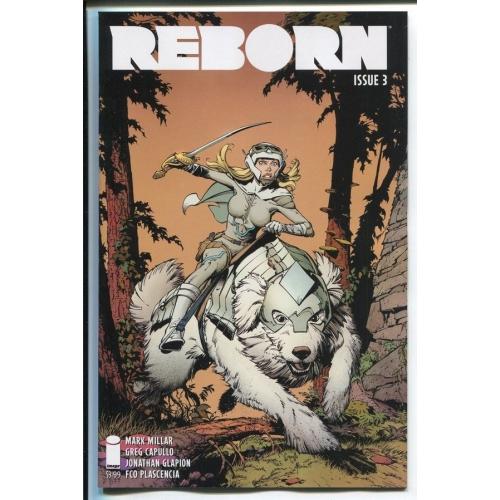 REBORN 3 Greg Capullo Variant (VO) Mark Millar - Greg Capulllo