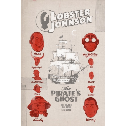 Lobster Johnson: The Pirate's Ghost 1 (of 3)