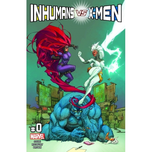 Inhumans Vs X-Men 0 (VO)