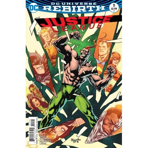 Justice League 11 Yannick Paquette Variant (VO)