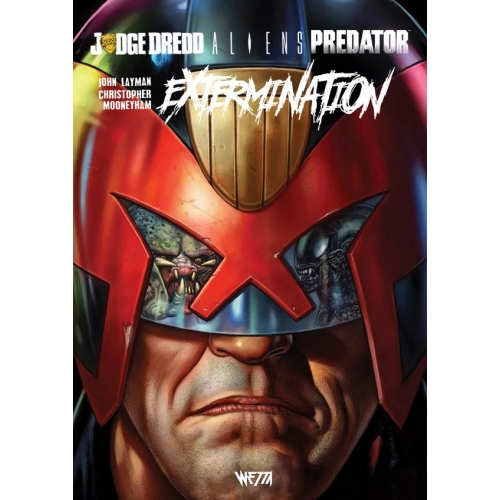 Judge Dredd / Aliens / Predator : Extermination - Édition Hardcore (VF)