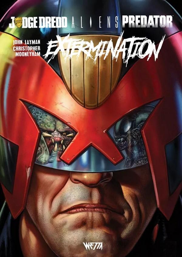 Judge Dredd / Aliens / Predator : Extermination - Édition Hardcore (VF)