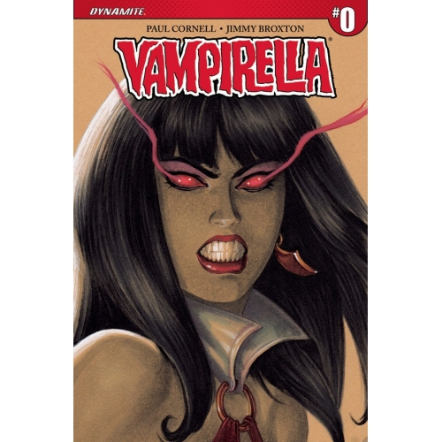 Vampirella 0 Joseph Michael Linsner Cover (VO) 1:50