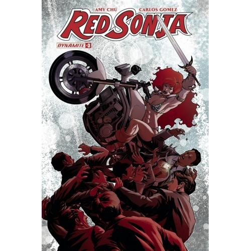 Red Sonja 3 McKone Cover (VO)
