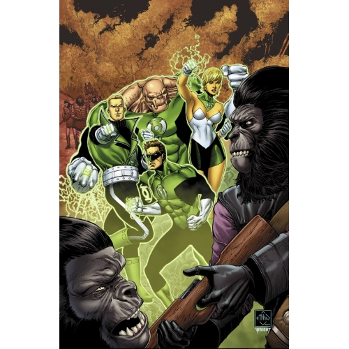 Planet of the Apes / Green Lanterns 2 (VO)
