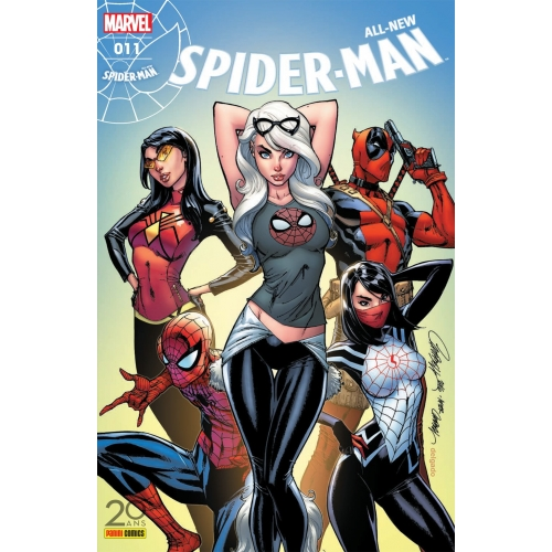 All-new Spider-Man nº11 - Edition Collector Exclusive Original Comics par J. Scott Campbell (VF)