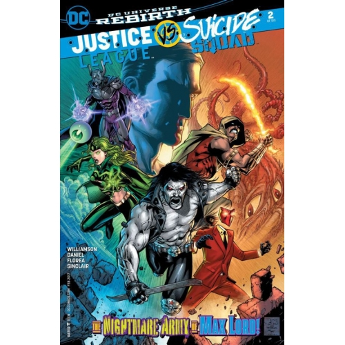 Justice League Vs Suicide Squad 2 (of 6) VO