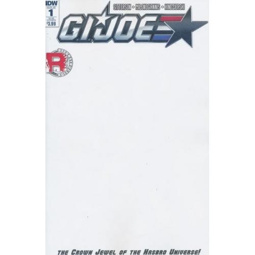 GI JOE 1 Blank Cover (VO)