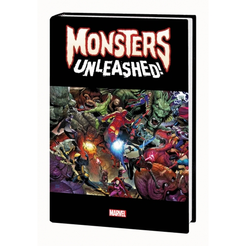 Monster Unleashed 1 Monster Size HC (VO)