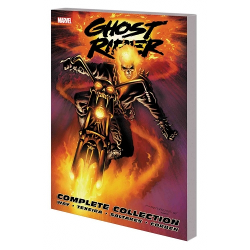 GHOST RIDER BY DANIEL WAY: THE COMPLETE COLLECTION TPB (NEW PRINTING) (VO)