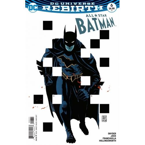 All Star Batman 6 Francavilla Variant (VO)