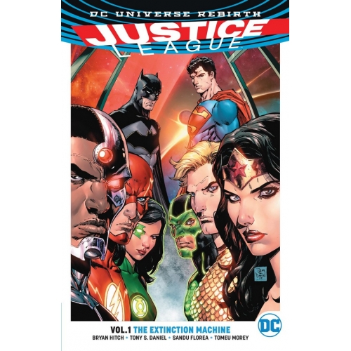 Justice League TP Vol.01 The Extinction Machine (VO) occasion